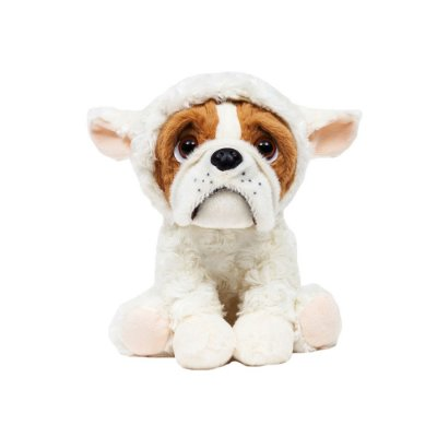 Cachorro Bulldog de Pelúcia Ovelhinha