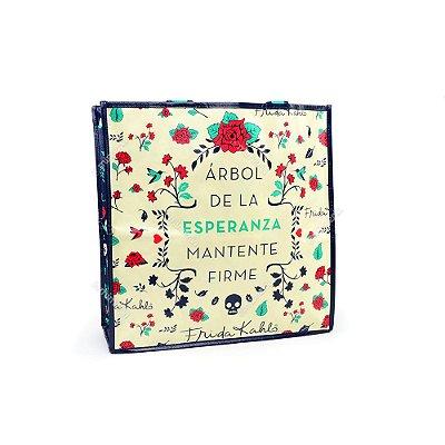 Eco Bag Frida Kahlo Floral Esperanza