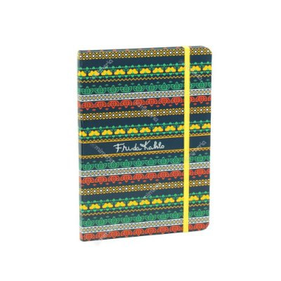 Caderno Médio com Elástico Frida Kahlo Pixels