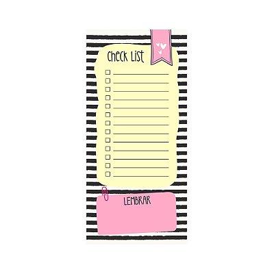 Bloco de Notas Imã Check List