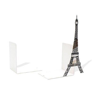 Aparador de Livros em Aço Paris Branco