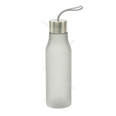Garrafa de Plástico Soft Glam Chumbo 650 ml