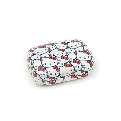 Porta Lentes de Contato Hello Kitty Laços Vermelhos