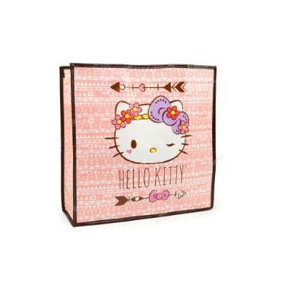 Eco Bag Hello Kitty Rosa