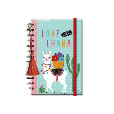 Planner Permanente Lhama Pequeno