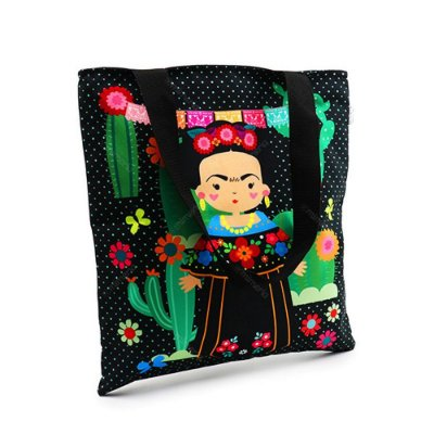 Bolsa Sacola Frida Color