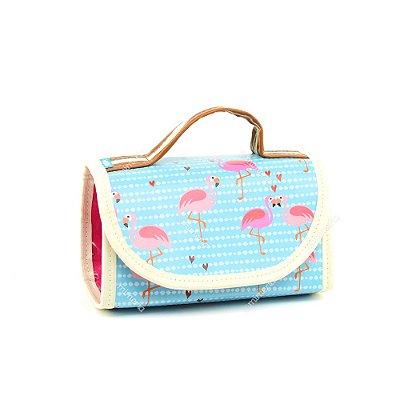 Necessaire Rocambole Flamingo