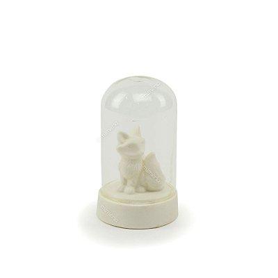 Luminária Decorativa Raposa Branca Pequena