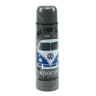 Garrafa Térmica Kombi Volkswagen Cinza