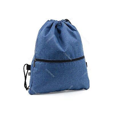 Mochila Sacola Azul Jeans