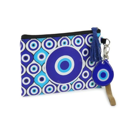 Necessaire Flat Olho Grego