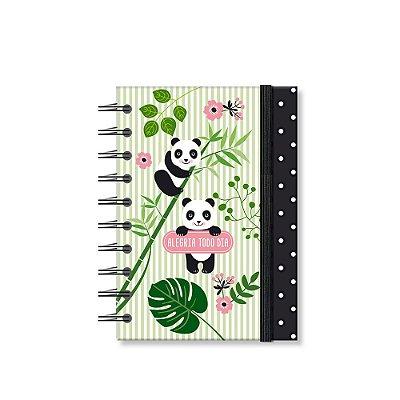 Caderneta Estampada Panda