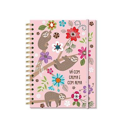 Caderno Colegial Bicho-Preguiça 200 Folhas