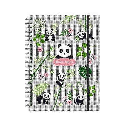 Caderno Universitário Panda 96 Folhas