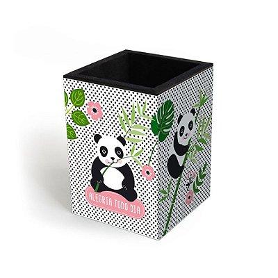 Porta-Lápis Decorado Panda