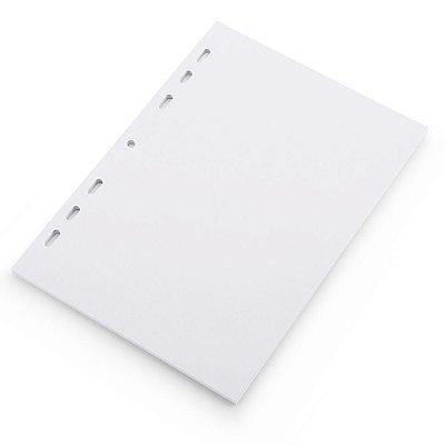 Refil Planner Fichário Grande Branco A5