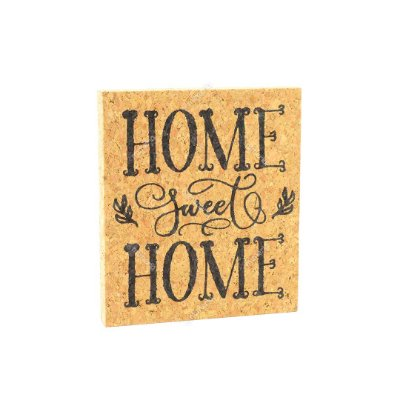 Quadro de Cortiça Home Sweet Home