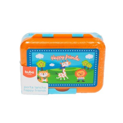 Porta Lanche Infantil Happy Friends
