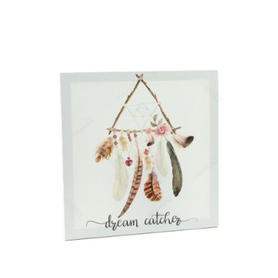 Quadro em Canvas Penas Dream Catcher