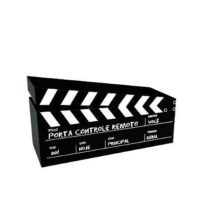 Porta-Controle em Aço Cinema