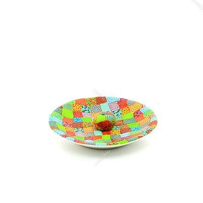 Incensário Abstrato Colorido