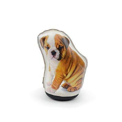 Peso De Porta Cachorro Bulldog Filhote