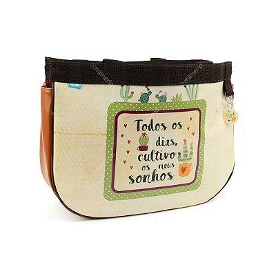 Bolsa Sacola Bag Cactus