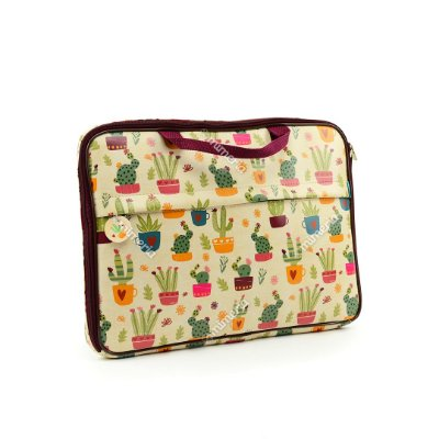 "Case Estampado para Notebook 15"" Cactus"