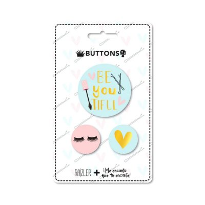 Kit 3 Buttons Make