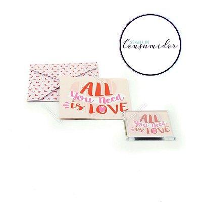 Kit Imã e Cartão Love