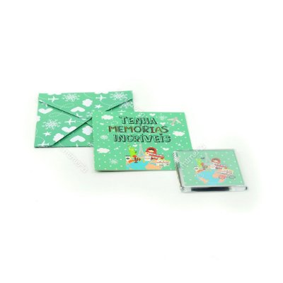 Kit Imã e Cartão Viagem