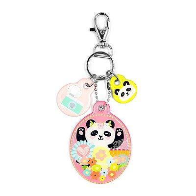 Chaveiro Resinado Panda
