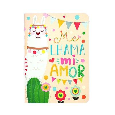 Caderno Pontado Lhama