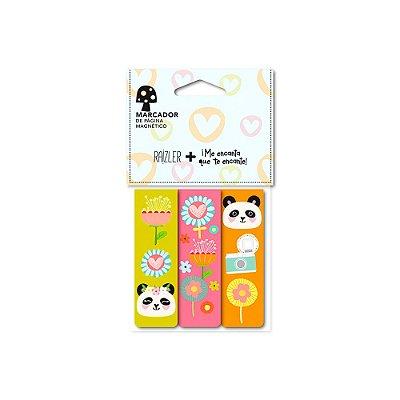 Trio Marcador de Páginas Panda