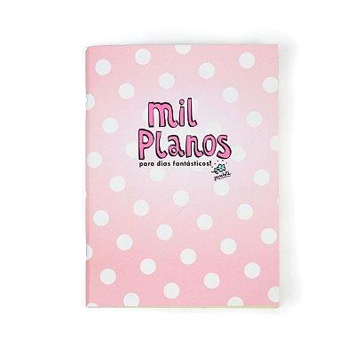 Caderno Bullet Journal Mil Planos Rosa