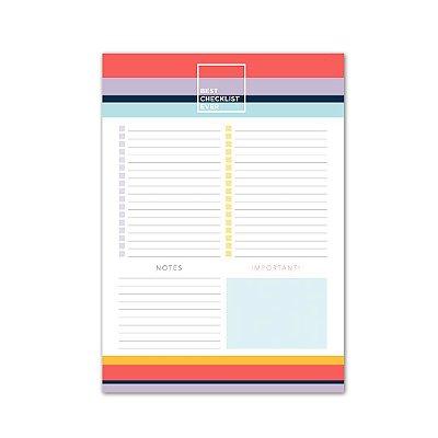Bloco de Mesa Checklist Allegro Médio
