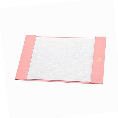 Risque e Rabisque A4 Pink Stone Geométrico Médio