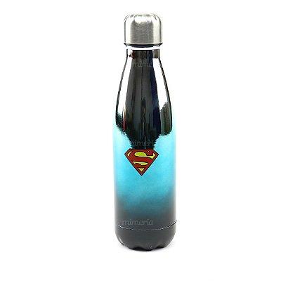 Garrafa de Alumínio Superman Azul 500 ml