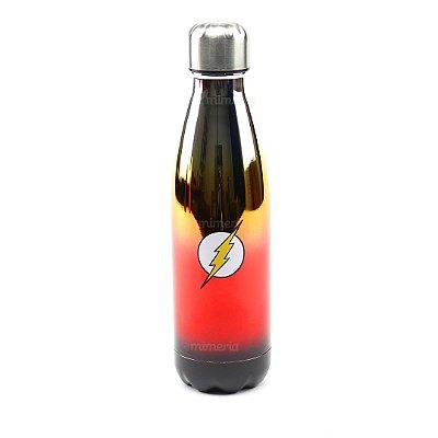 Garrafa de Alumínio Flash Vermelha 500 ml
