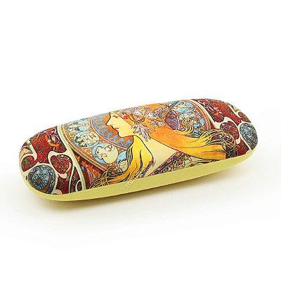 Estojo Porta Óculos com Lenço Art Nouveau Zodiak