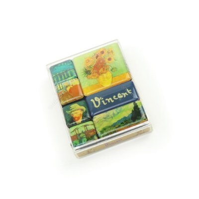 Kit Imãs Decorados Van Gogh
