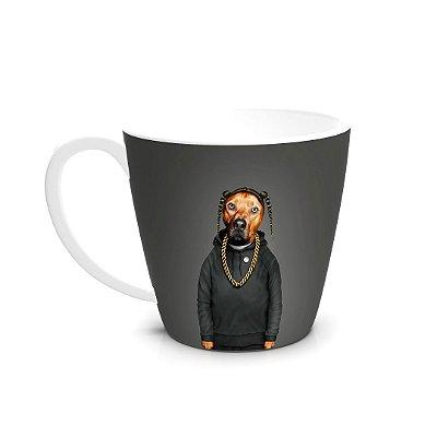 Caneca de Cerâmica Pets Rock Rap