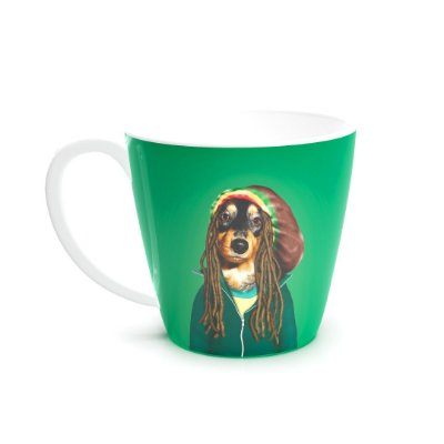 Caneca de Cerâmica Pets Rock Reggae