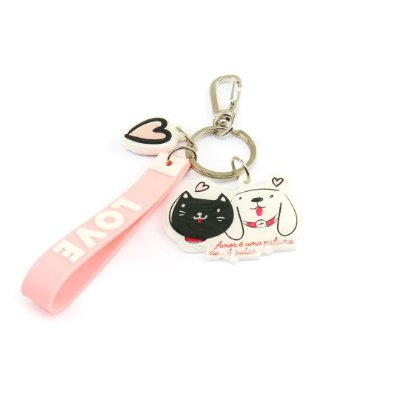 Chaveiro Estampado Pet Friends