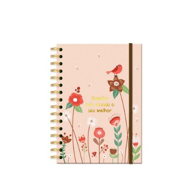 Caderno Clássico Jardim