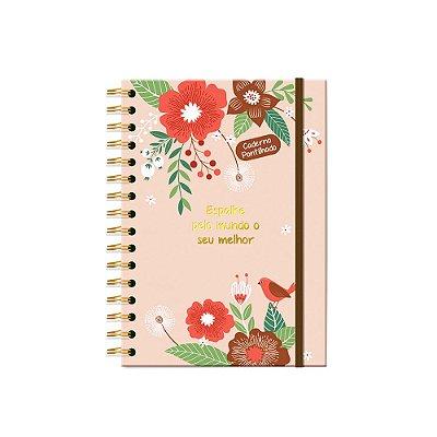 Caderno Pontilhado Jardim