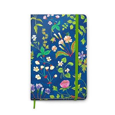 Caderno Pontado Paginado Pólen Verde Médio