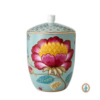 Pote Azul Floral Fantasy Pip Studio