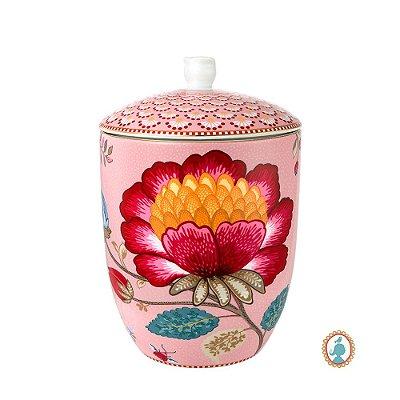 Pote Rosa Floral Fantasy Pip Studio