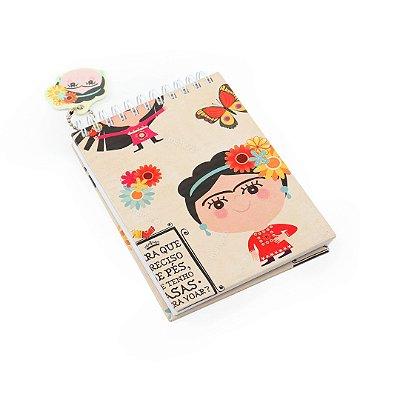 Caderno de Notas Wire-O Frida